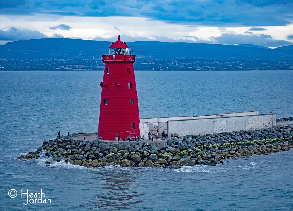 Poolbeg Lighthouse Dublin Port