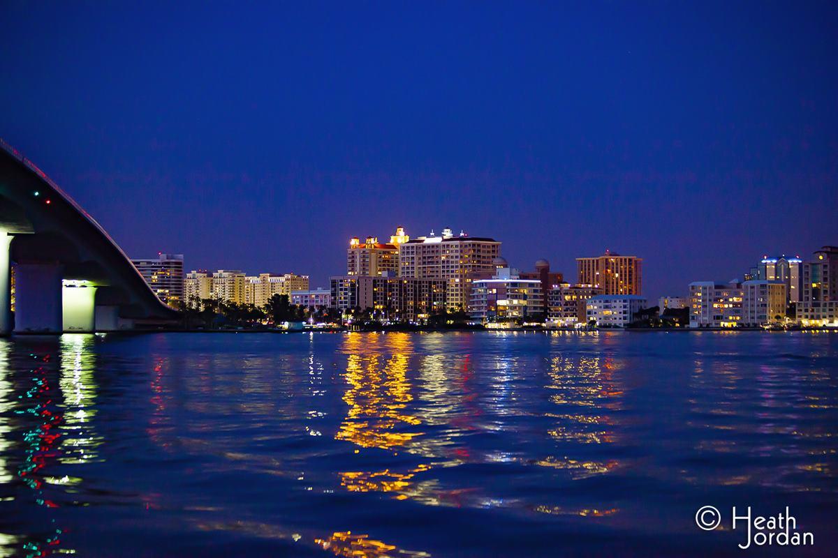 Sarasota Bay at Night
