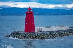 Poolbeg Lighthouse Dublin Port