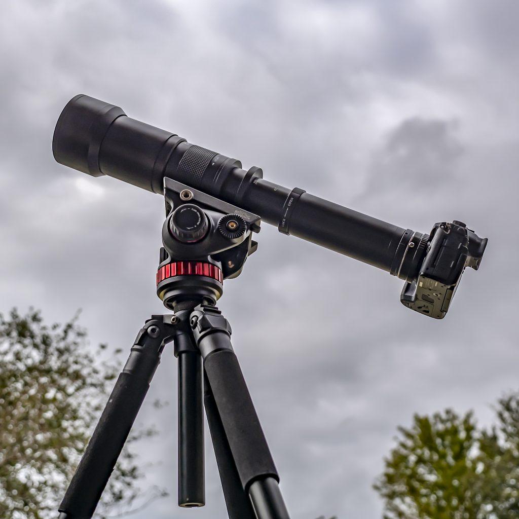 Super Blood Wolf Moon Eclipse Camera