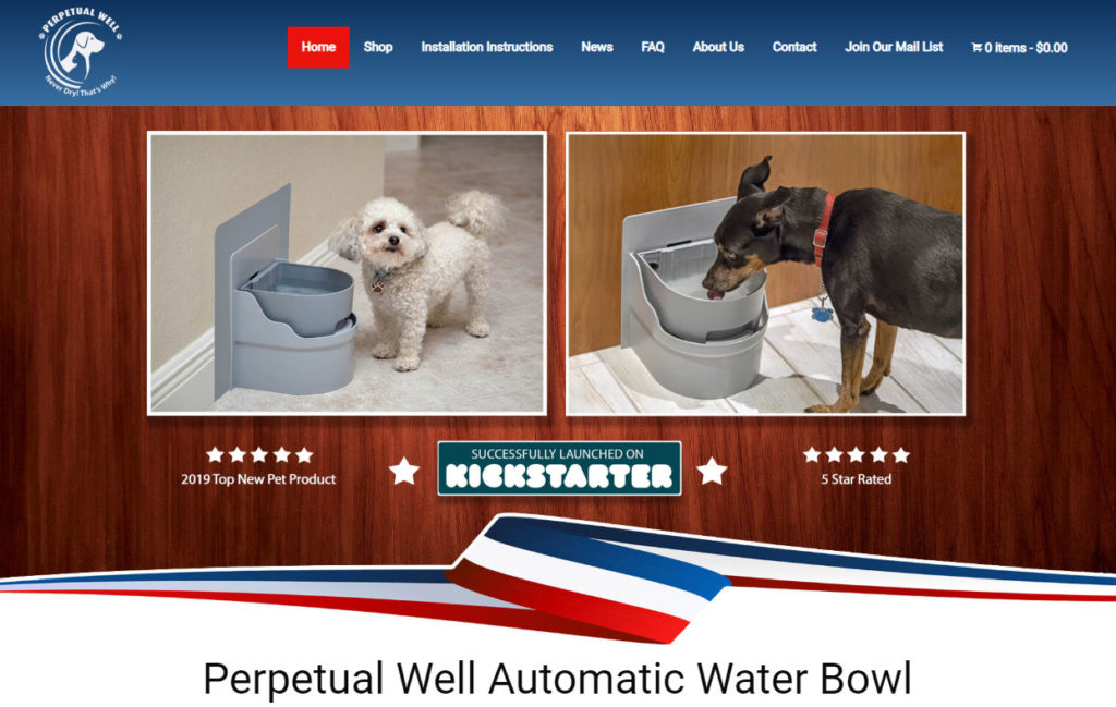 automatic dog waterer
